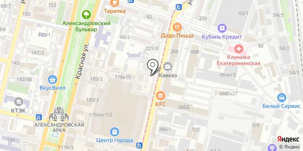 Юридическая консультация. Схема проезда в Краснодаре
