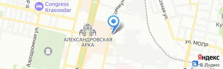 Casino на карте Краснодара