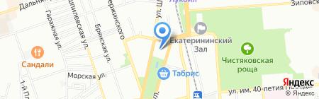 Банкомат Крайинвестбанк на карте Краснодара