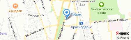Экомедика на карте Краснодара