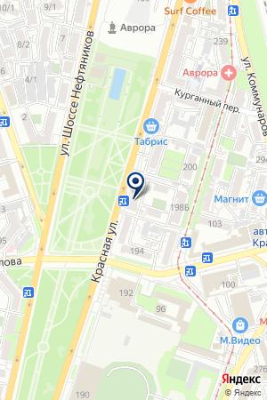 МОДНЫЙ МАГАЗИН VIA VENETTA на карте Краснодара