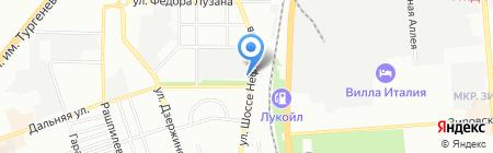 Банкомат КБ Кубань Кредит на карте Краснодара