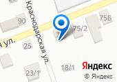 Продовольственный магазин на Сельской (Новотитаровская) на карте