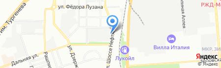 Дом в дорогу на карте Краснодара
