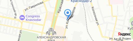 TAJIMA на карте Краснодара