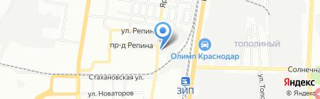 Ак Барс на карте Краснодара