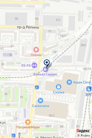 ТФ ТАЙДИ-КУБАНЬ на карте Краснодара