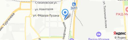 РОСТ на карте Краснодара
