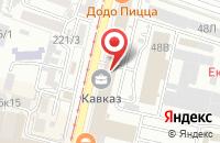 Схема проезда до компании Новая Реальность в Краснодаре