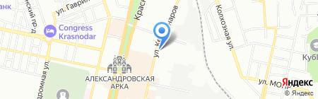 Вайссберг на карте Краснодара