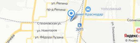 МеллМарт на карте Краснодара