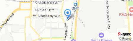 Черепаха на карте Краснодара