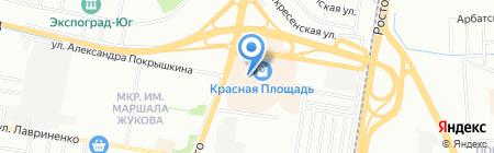 Ангстрем на карте Краснодара