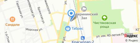 Нотариус Ватульян М.Р. на карте Краснодара