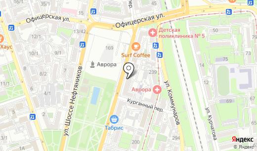 Нотариус Ватульян М.Р.. Схема проезда в Краснодаре