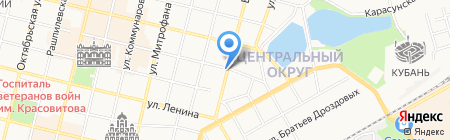 Маркиза на карте Краснодара