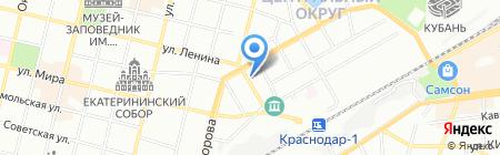 Republic на карте Краснодара