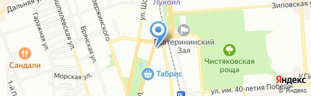 Оризон на карте Краснодара