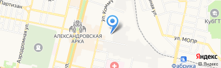 Конкурент на карте Краснодара