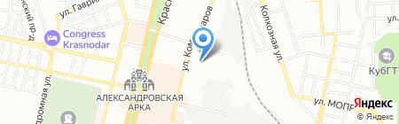 Мэйджор Экспресс на карте Краснодара