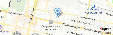 ОБО Беттерманн на карте Краснодара