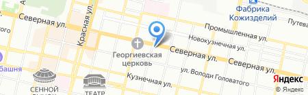 Аэро-Альянс на карте Краснодара