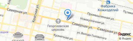 Даймонд-тур на карте Краснодара