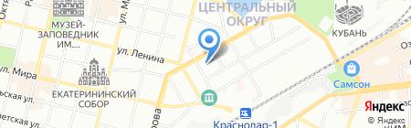 Кубаньоргтехника на карте Краснодара