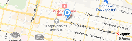 Квартал на карте Краснодара