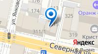 Компания Тонус клуб на карте