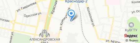 Платежный терминал на карте Краснодара