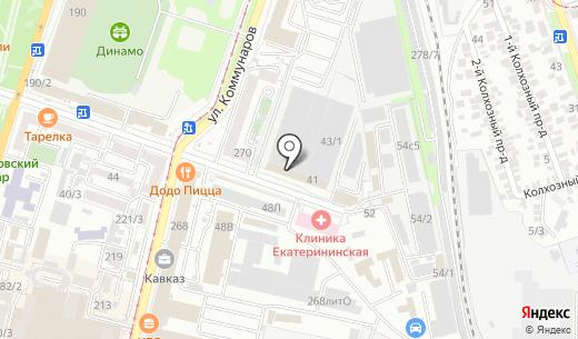 Платежный терминал. Схема проезда в Краснодаре