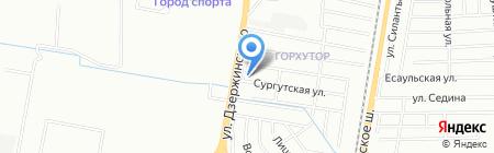 Каменный двор на карте Краснодара