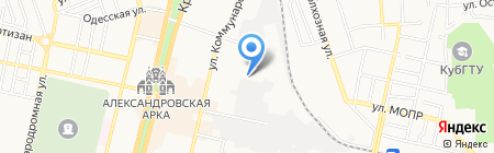 Re-styling на карте Краснодара