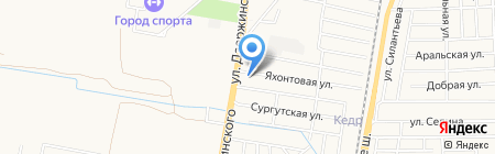 Семейный на карте Краснодара