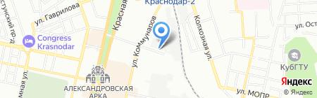 Строй Интернейшнл на карте Краснодара