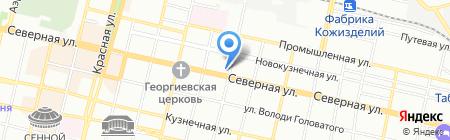 Кенгуру на карте Краснодара