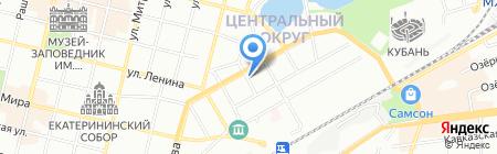 Арт-Маэстро на карте Краснодара