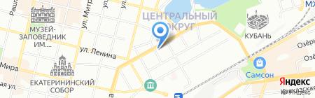 Теплосервис на карте Краснодара