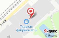 Схема проезда до компании Тексор в Орехово-Зуево