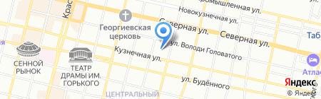 Детский сад №129 на карте Краснодара