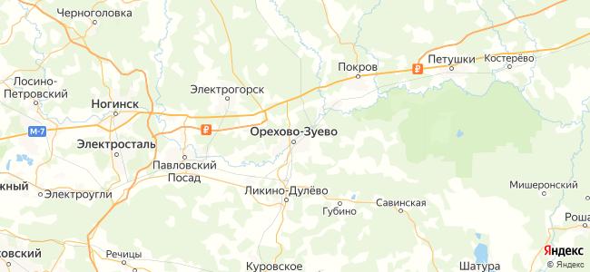 Гостиницы Орехово-Зуево - объекты на карте