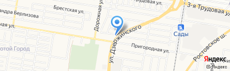 Лбр-Агромаркет на карте Краснодара
