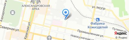Доктор Ноутбуков на карте Краснодара