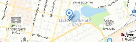 КубаньСтройДом на карте Краснодара
