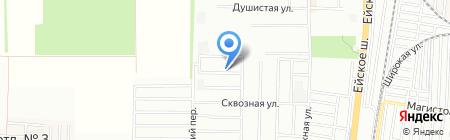 Эллада на карте Краснодара