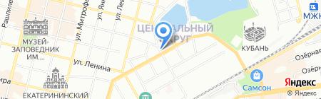 Ресторатор плюс на карте Краснодара