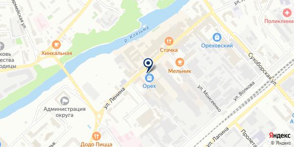 OZON.ru на карте Орехово-Зуево