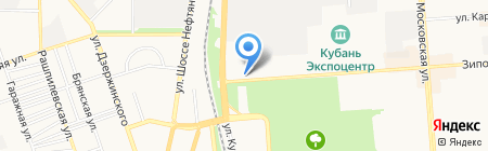 Kerk на карте Краснодара