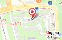 Схема проезда до компании Новинка в Краснодаре